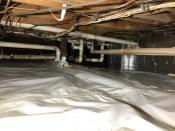 crawlspace after install